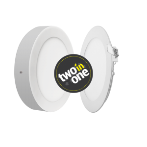 Oprawa MAX-LED DOWNLIGHT 2in1 LED 12W 230V Okrągła